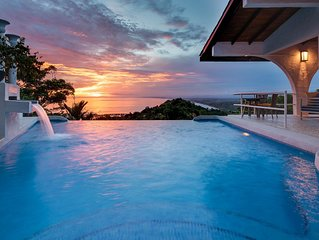 Voted Most Romantic Villa with Private Infinity Pool Ocean View