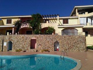 Grazioso appartamento in residence con piscina