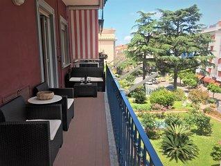 Fantastico appartamento a 10 minuti dal mare, zona centrale di Sorrento freeWIFI