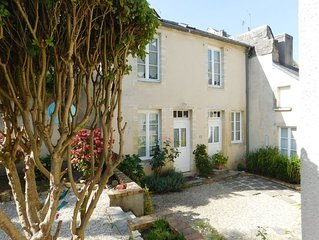 A secluded townhouse in the heart of historic Bayeux
