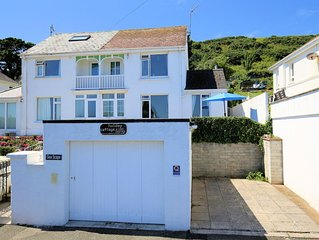 Spacious Holiday Home By The Beach At Looe, Cornwall - With Great Sea Views