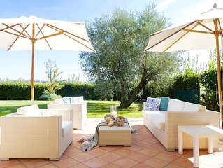 LUSSUOSA VILLA VICINO AL MARE!!!! TOP LOCATION  AIR COND. PARKING GARDEN