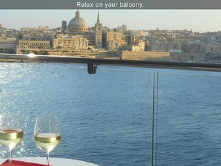 6* Your Sea Views - 3 bedroom apartment, Malta