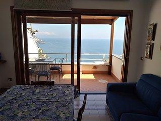 Belview Positano,  2 bedrooms, balcony, impressive panorama, free wi-fi, parking