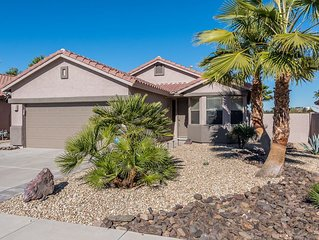 Gorgeous 3 Bdrm Peoria Area Home With Pool, 3 Miles To Peoria Sports Complex!