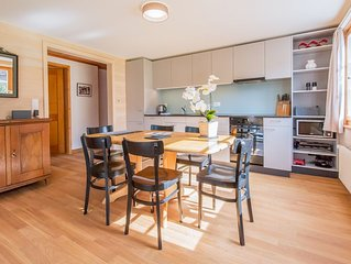 Chalet Arven - Newly Renovated 3 Bedroom Apartment In Ideal Central Location