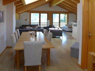 Ferienwohnung Residence Sundance in Val-d'Illiez - 9 Personen, 4 Schlafzimmer