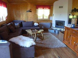 Ferienhaus Edelweiss in Moleson-sur-Gruyeres - 9 Personen, 4 Schlafzimmer