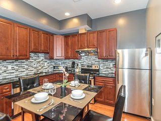 Center City 2 Bedroom Apt by Convention Center, New, Modern & Spacious (1A)