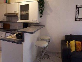 Maubuisson:Agréable appartement au (rc) dans Résidence calme à 400m de la plage