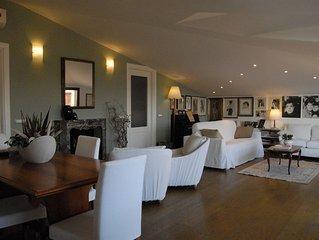 Appartamento in villa dell'800 vista mare, con parcheggio privato Wifi gratuito