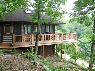 The Perch At Lake Lucerne- Log Cabin Couples Getaway In Eureka Springs