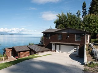 Restored 1940's Resort Cabin on Flathead Lake, ~MT~