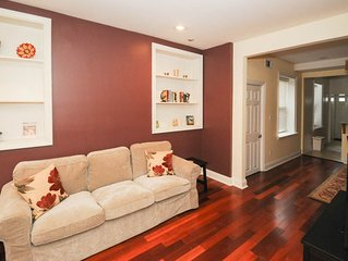 Friendly 2b2b, Near Schools, Hospitals, Rittenhouse, Schuylkill Trail, Downtown