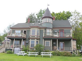 Elegant condo on the water in downtown Wolfeboro