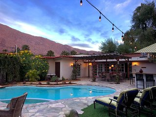 Palm Springs Desert Star, Classic Hacienda Style Luxury 4BR Resort Home Pool Spa