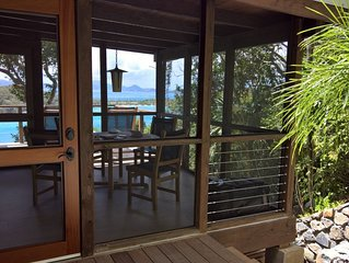 Stunning North Shore Honeymoon Cottage inside Park; two minutes to 5 beaches