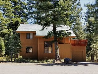 Family-Friendly, Pet-Friendly, Tree-Surrounded Tahoe City Vacation Home