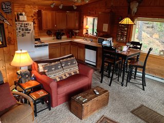 Deer Creek Cabin - a Log Cabin in the Rockies of Colorado!