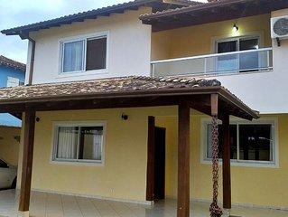Casa com 3 quartos perto da praia do Jabaquara para até 10 pessoas