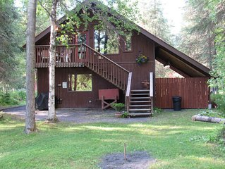 A Private Riverside Suite, Tucked In The Mountains, Just 30 Minutes From Seward
