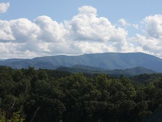 Stunning Smoky Mountain Views ~ Close to Town with Easy Access by Car!