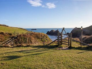Stylish & Spacious lodge just outside of Salcombe. 5 minute walk to beach
