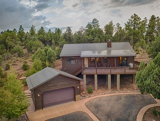 Spectacular Forest Views; Gated Bison Ridge Neighborhood; FREE WiFi & Cable
