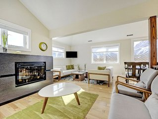 3-bed, 2-bath private Suite with panoramic views of the Rocky Mountains