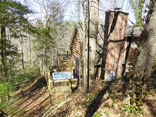 Natures Retreat Cabin near Cherokee and Bryson City
