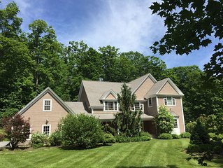 Exquisite 4300 sf Home on 3 Acres Near Town, Skiing, and Shopping