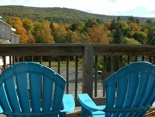 PENTHOUSE /Sun Room, deck, Mountain view, 5 beds sleeps 7