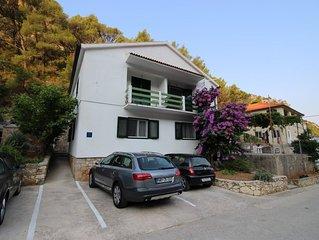 Two bedroom apartment with balcony and sea view Cove Vela Stiniva bay - Vela Sti