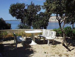 One bedroom apartment near beach Šimuni (Pag) (A-236-c)