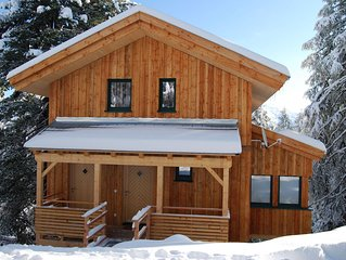 Detached design chalet with in-house spa on the Turracher Höhe.