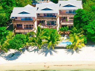 BEST BEACH FRONT Location on West Bay Beach-Private Yet Close to Everything