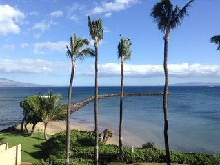 Enjoy a Spectacular Oceanfront View while relaxing on the lanai