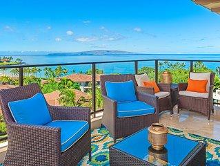 OCEAN VIEWSTOP FLOOR! Regal Mandalay M511at Wailea Beach Villas