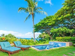 PLUNGE POOL! Coco Palms Pool Villa D101 at Wailea Beach Villas