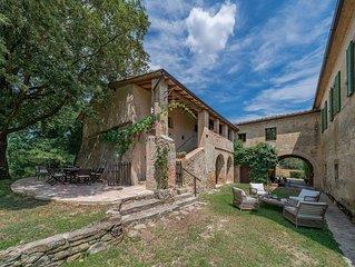 Podere Fagianaia - Farmahouse in Val D'orcia wine Estate