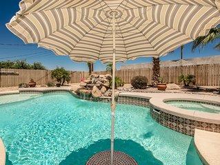 Wow!! Amazing pool & backyard!!!
