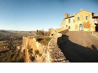 Casa storica con panorama