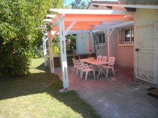GITE LE CHENE AUX OISEAUX Maison  BASSIN D'ARCACHON, 3 ch, gr jardin arboré, ***