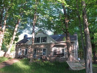 1796 Stone Farmhouse on 15 Acres Boarding Mohonk Nature Preserve