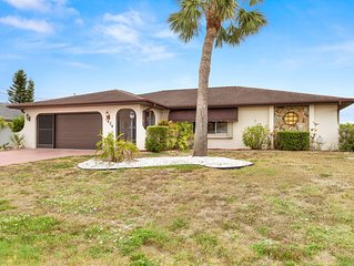 Newly renovated & beautiful home on fresh water canal!
