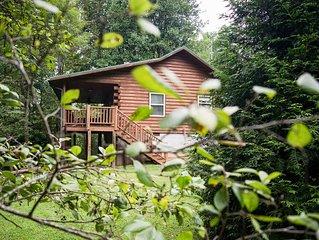 Creekside Bryson City Cabin w/ Hot Tub!