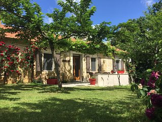 Cottage for 5 people on the heights of St Cirq.
