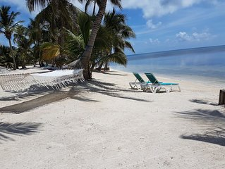 TROPICAL CASITA ON THE BEACHES OF THE CARIBBEAN SEA PADI/SSI CERTIFIED RESORT