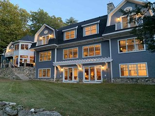 Amazing Waterfront Estate; over 2.5 private acres with over 260 Ft of shoreline