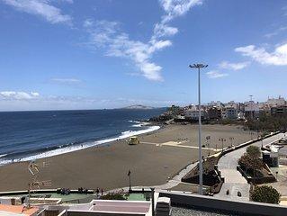 Vista del Piso hacia la playa